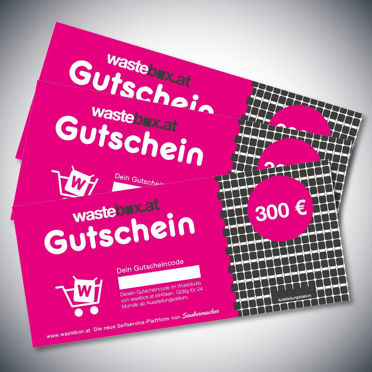 Gutschein 300 Euro