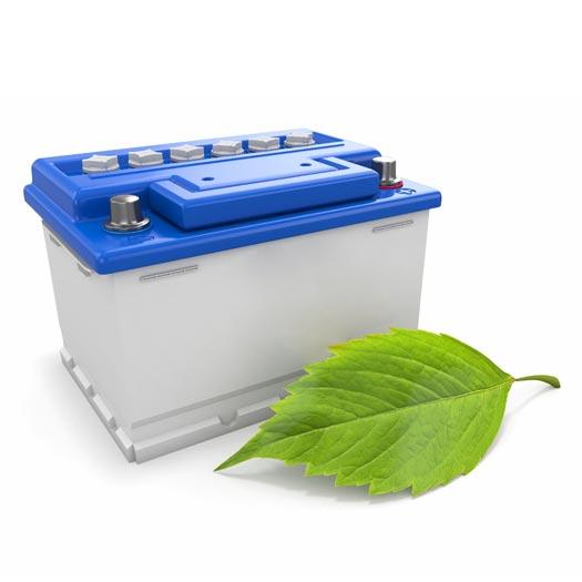 Altwaren - Was darf nicht hinein: Autobatterie