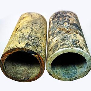 Asbestzement [Eternit] - Was darf hinein: Rohre aus Asbestzement