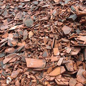 Bauschutt - Was darf hinein: Dachziegel