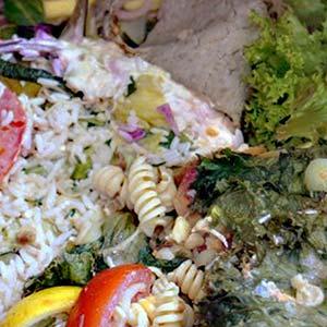 Grünschnitt - Was darf nicht hinein: Küchenabfälle und Speisereste