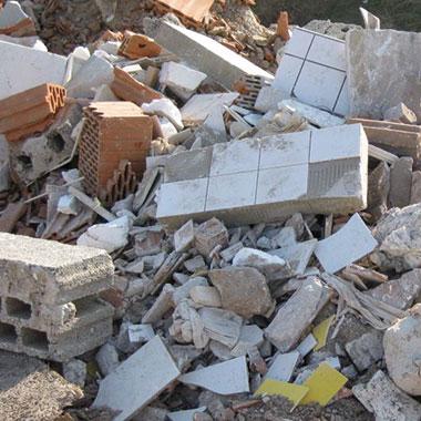 Sperrmüll - Was darf nicht hinein: Baustellenabfälle