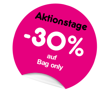 Aktionstage -30% auf Bag Only
