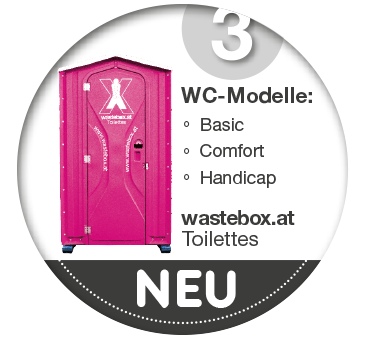 WC Services neu auf Wastebox.at