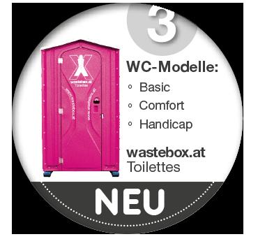WC Services neu auf Wastebox.at