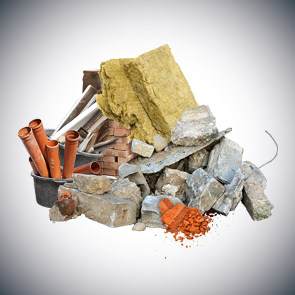Bauschutt und Baustellenabfälle entsorgen